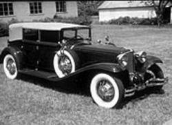 1931 Cord sedan