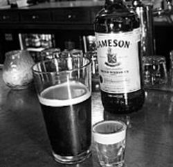 The Harp's Irish car bomb