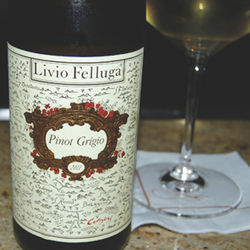 Five years ago, screw caps as closures for wine were considered controversial and possibly untenable. Today, they are commonplace, as in the case of this excellent value-driven Pinot Grigio from Livio Felluga.