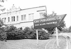Bayousphere Disappearing Houston: The Gulf Publishing Co. building stood on Allen Parkway for many years, until a wrecker's ball got it. Drive by now, and all you'll see is an empty lot.