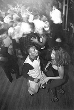 Bayousphere Salsa dancing: It's Saturday night at the Tropicana Nite Club on the Richmond Strip.