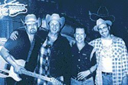 The Hollisters may be moving up the food chain, but the band is still rooted in traditional country.