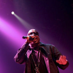 Lil Keke onstage at House of Blues for his birthday party in March 2011.