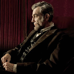 Daniel Day-Lewis's Lincoln is quietly ironic.