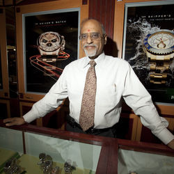 Aku Patel opened one of the area's first Indian-owned businesses, Karat 22. Twenty-five years later, he's one of only six jewelers in Houston who are authorized Rolex dealers.