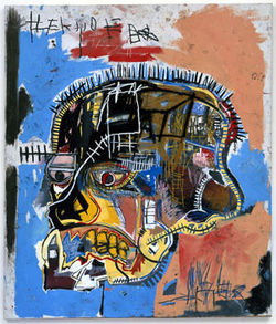 Basquiat painted Untitled (Head) -- an incredibly 