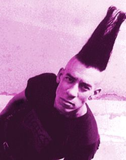 This Mohawk brought to you by Christian Arnheiter of The Hates.