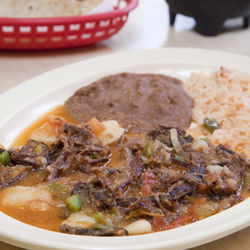 Los Corrales is one of the few places in town that serve aporreado.