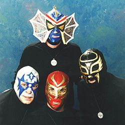"Los Straitjackets' new CD Rock en Español, Vol. 1 takes 1960s hits and re-creates them; ""Hang on Sloopy"" becomes ""Hey,  Lupe."""