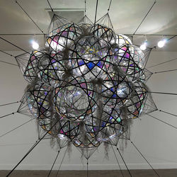 Saraceno approaches art from his background in architecture.
