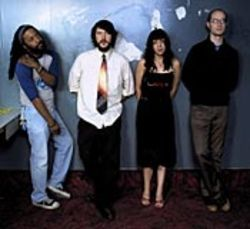 Swerving away from Cursive: Tim Kasher (second from left) brings another great band to town.