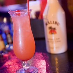 The Gallant Knight's Malibu punch