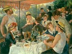Duncan Phillips deliberately paid a record price for Renoir's Luncheon of the Boating Party in 1923.