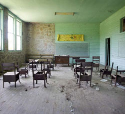 The Fodice Foundation will be located in an abandoned schoolhouse in East Texas.