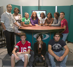 Three hundred students apply to the Broadcast Academy at Hightower High School each year. Only 45 are accepted.