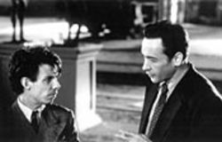 Max Rothman (John Cusack, right) encourages Der Fhrer (Noah Taylor) to put his overwhelming passion on canvas.
