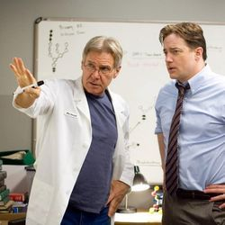 Harrison Ford is the executive producer of Extraordinary Measures; he and Brendan Fraser star in the film.