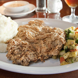 Maybe Frank's will put the chicken-fried steak on the dinner menu.