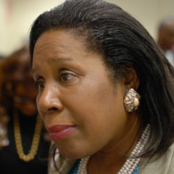 Sheila Jackson Lee: Texas U.S. Rep. Sheila Jackson Lee carried water for Medicare swindler Houston Riverside General Hospital.