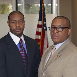 Miami HEAT taskforce members Christopher Dennis and Reginald France.