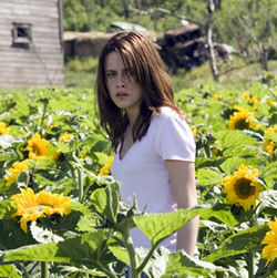 This PG-13 creepfest (with Kristen Stewart) is set against the high-tension backdrop of…sunflower farming!