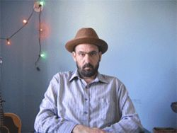 "Veteran solo artist Mark Eitzel is of the ""glass half empty"" camp."