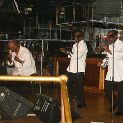 Velvety R&B crooners Gifted the Group know how to please the crowd at Maxewell's.