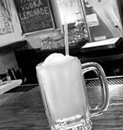 The Kelvin Arms's frozen lemonade