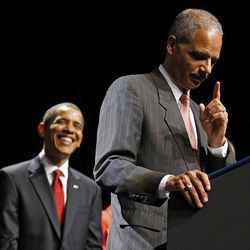 Obama&#039;s point man: Attorney General Eric Holder