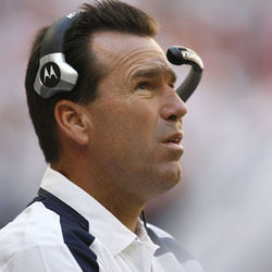 Gary Kubiak Hates when you call him: A head coach with a 22-26 record On the one hand: His win totals have gone up each year On the other: Hard to see how they could have gone down Prediction for 2009  season: 9-7. The rest of  the league holds his future: If 9-7 is good enough for the playoffs, he'll survive another year; if it takes 10-6, he's out of a job Nickname: Brushcut