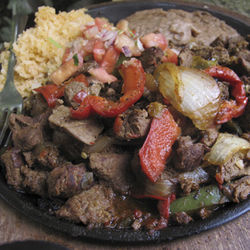 The famous fajitas at Joe T. Garcia&amp;#146;s in Fort Worth are actually cut from ungraded tenderloins.
