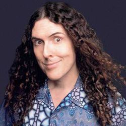 Weird Al: The camera loves me!