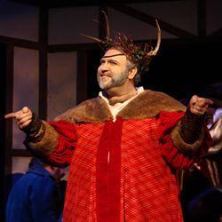 Especially impressive: baritone Jason Budd as Falstaff.