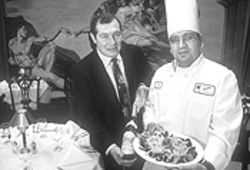 Fabio Molano and Pepe Velez serve up a hodgepodge of Italian food clich&amp;eacute;s, but it&#039;s an unusual hodgepodge.