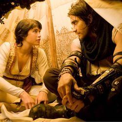 The princess and the videogame protagonist: Gemma Arterton and Jake Gyllenhaal.