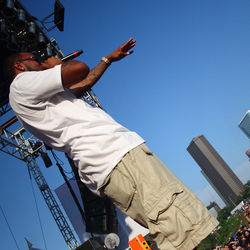 Free Press Summer Fest has always prominently featured local rappers such as Slim Thug, shown in 2010.
