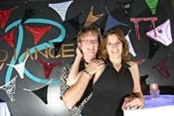 Scott and Kaylee, owners of Club Radiance, appeal to  younger patrons through their Web site and hip-hop  DJ.