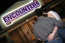Peter and Cherie visited Encounters to decide if they  wanted to become swingers.