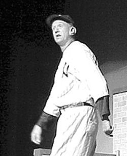 Kurt Bauer as Casey Stengel