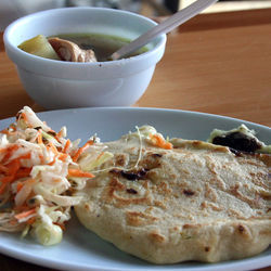 Pupusa Buffet has an ample selection of the Salvadoran treats to choose from.