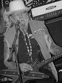 David Allan Coe gets his Max Max Beyond  Thunderdome on.