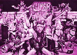 The style is the substance of GWAR's insipid performance art set to metal.