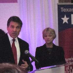 Governor Perry has appointed himself protector of the faith.