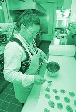 Pralines became a Tex-Mex staple to cooks like Obidia Rodriguez because of the cheap ingredients.