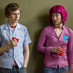 Scott (Michael Cera) has to fight to get ­Ramona (Mary Elizabeth Winstead).