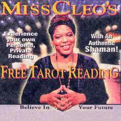 Miss Cleo: fierce, straight-to-the-gut protest poetry.