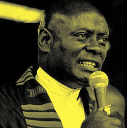 Revolutionary Muslim and teacher Khalid Abdul Muhammad of the Nation of Islam trained an impressionable Quanell X how to stir a crowd with hateful statements.