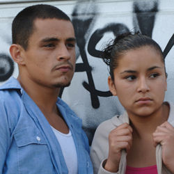 Family outcasts: Carlos (Jesse Garcia) and Magdalena (Emily Rios).