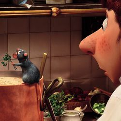 Ratatouille is a slow-food movie for a fast-food nation.