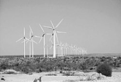 The Saudi Arabia of wind: West Texas's desert landscape and plateaus make it ideal for generating power.